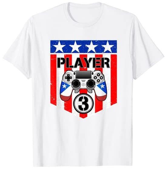 Player 1 Player 2 Ready Player 3 Loading Cute Gaming T Shirt In 2020 Gamer T Shirt Mens Tshirts Mens Shirts