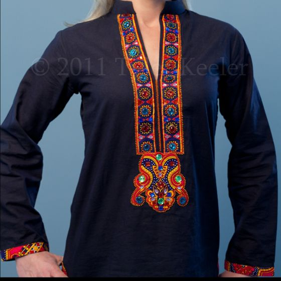 Another great tunic from PomPom Project by Deepak Perwani $125