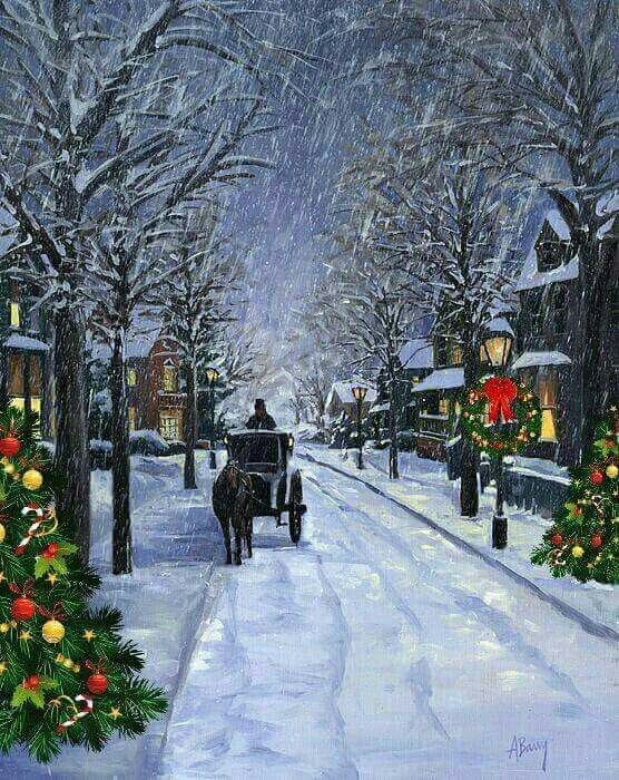 Christmas Scenes Images.I Love This Scene All About Holidays Seasons