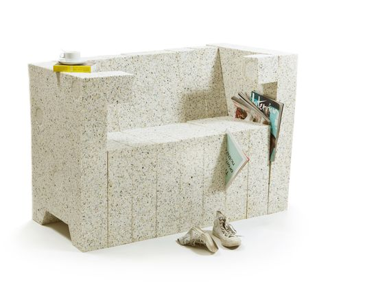 RECYCLING CHAIR-SOFA SYSTEM by Stephan Schulz