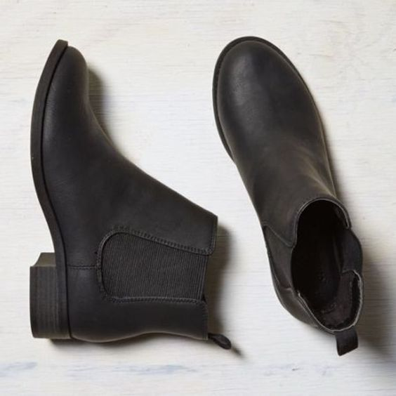 's Slip-on Bootie (Black):