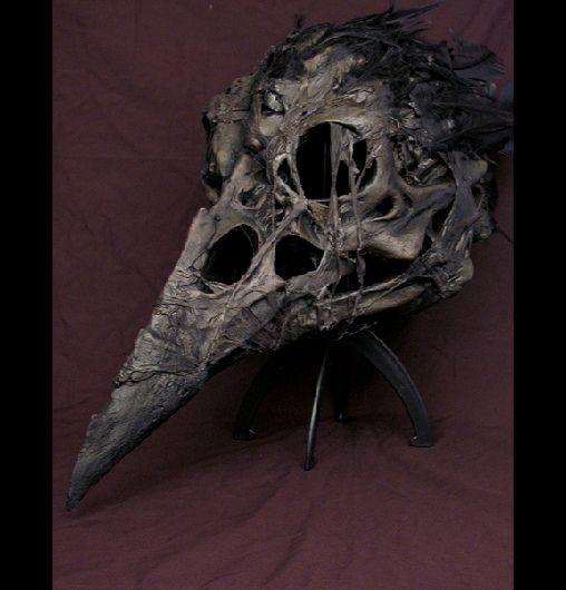 how to make crow mask