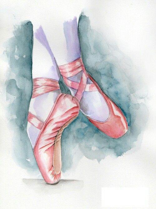 Pointe Shoe Art Ideas