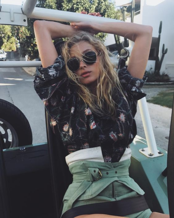 Corset belt, street style trends 2017, NYC street style, cute festival outfits