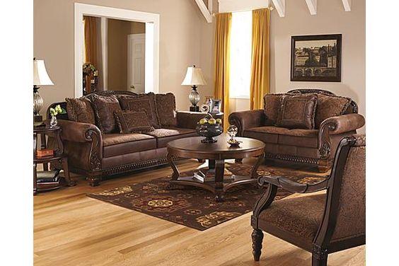The Bradington Sofa From Ashley Furniture HomeStore The Rich Eleg