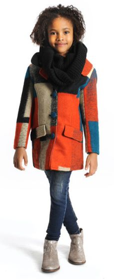 Appaman Galaxy Multi Woolen Coat