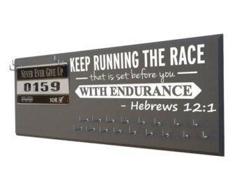 Race Medal Holders Race Bib Holders Race Bib Holder by SignChik