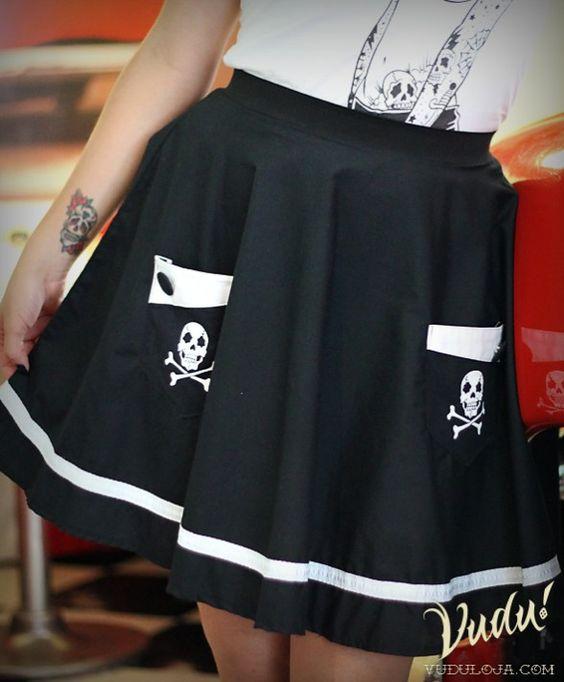 Saia Godê Sailing in Black