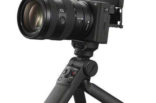 The Gp Vpt2bt Sony Shooting Grip With Wireless Connection For Mirrorless Cameras Technology News Reviews And Buying Guides Mirrorless Camera Best Home Security Camera Security Cameras For Home