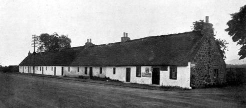 Old Photograph Cottages, Hermiston, Scotland