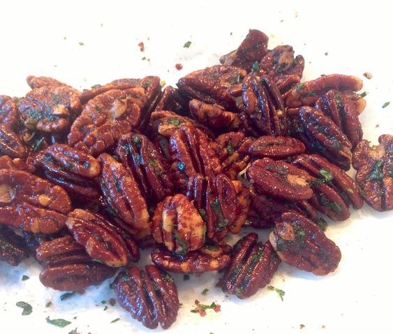 Rosemary Salted Pecans