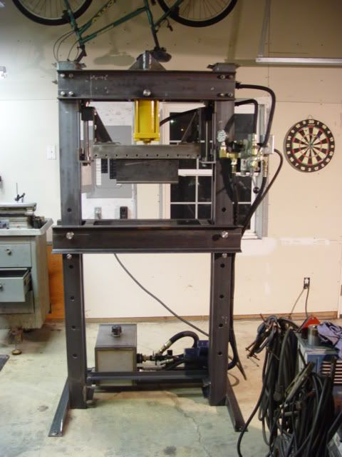 Home shop press project (picture heavy)