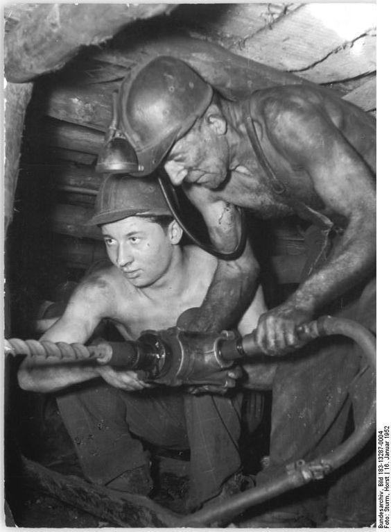 Coal Miners abt 1952