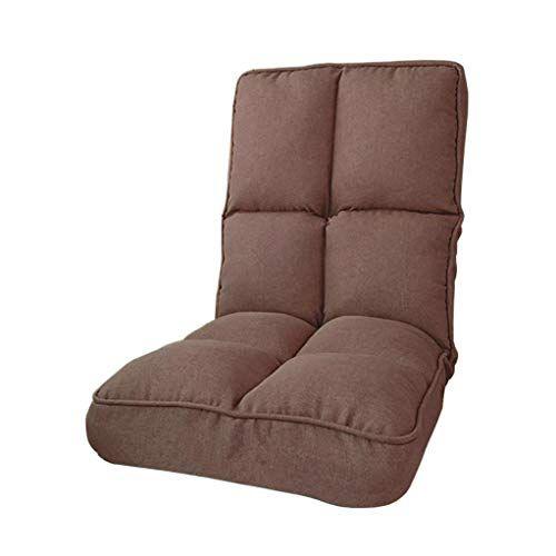 Adjustable Floor Chair Foldable Lazy Lounge Sofa Bed Single