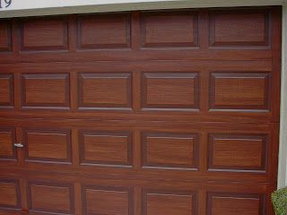 Garage Door Tutorial Including Brand Name Colors Taping
