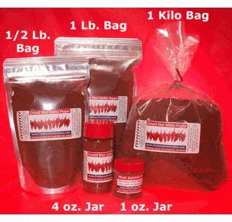 Ghost Pepper (Bhut Jolokia) Ground Chili Pepper Powder in a 4 oz. Spice Jar (1.76 oz.)