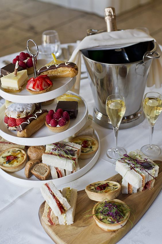 Afternoon Tea Anyone? Galloping Gourmet #WeddingFood