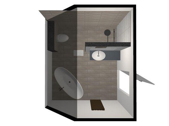 Ontwerp badkamer Groesbeek