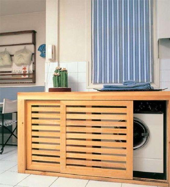 Doors for Laundry Area | Photo 06 Awesome Laundry Room Using Stylish Slider Door
