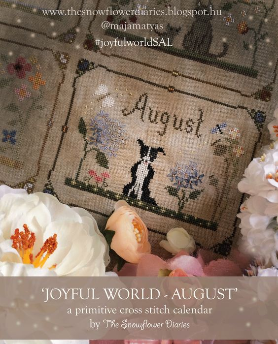 The Snowflower Diaries: JOYFUL WORLD - AUGUST PATTERN