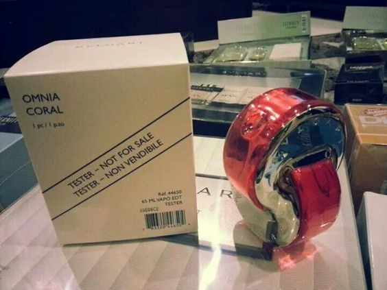 BVLGARI OMNIA CORAL tester price RM180 RM190