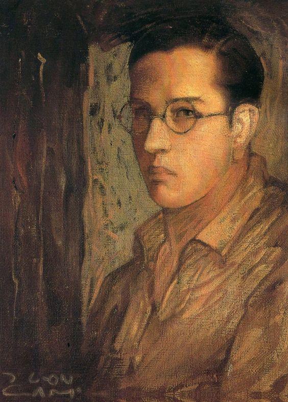 Jorge González Camarena, Autorretrato de Estudiante, 1925