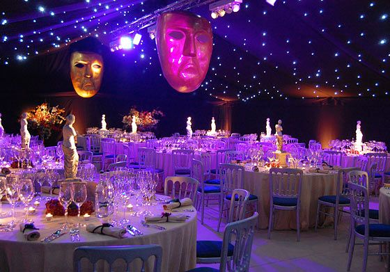winter event lighting ideas | Themed Marquee Hire - Photo of Venice Themed Marquee