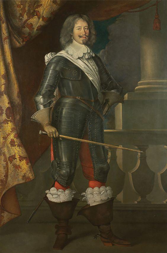 """Jean-Arnaud de Peyres, Comte de Troisville dit """"Tréville"""", Capitaine des Mousquetaires du Roi.:"""