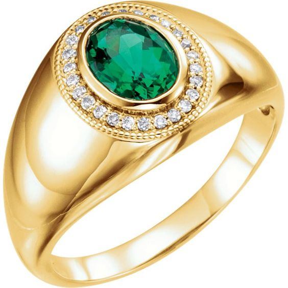 ALLURE RING  This diamond ring is set in diamonds weighing in a total of 0.10 Ct, color stone & Gold wt Approx 4.500 Gms.