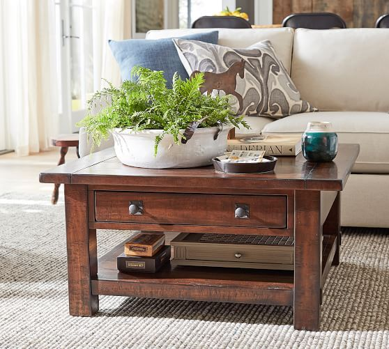 Benchwright Square Coffee Table Coffee Table Coffee Table
