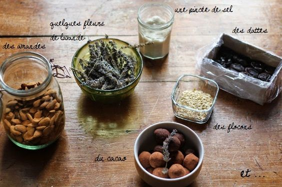 Better than Butter - Raw, vegan and gluten-free chocolate and lavender truffles