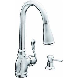 Single Handle Faucet W Pull Out Moen Ca87003 Faucet Anabelle Chris Jodi 39 S