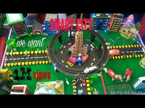 Smart City School Project Youtube Smart City Science Projects Science Projects For Kids