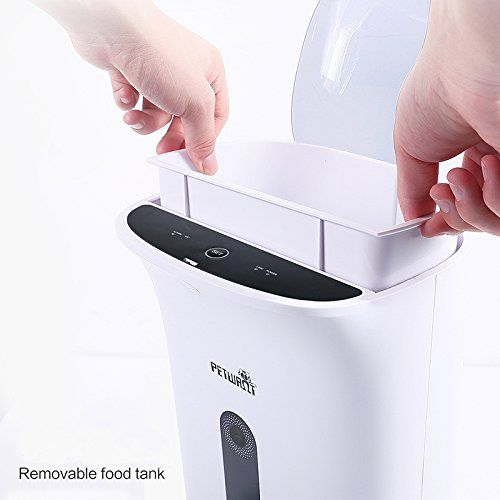 Automatic Pet Feeder Mindsinglong Smart Dispenser For Small Medium Large Dogs And Cats Support Iphone And Android Ph Pet Feeder Automatic Cat Feeder Dog Feeder