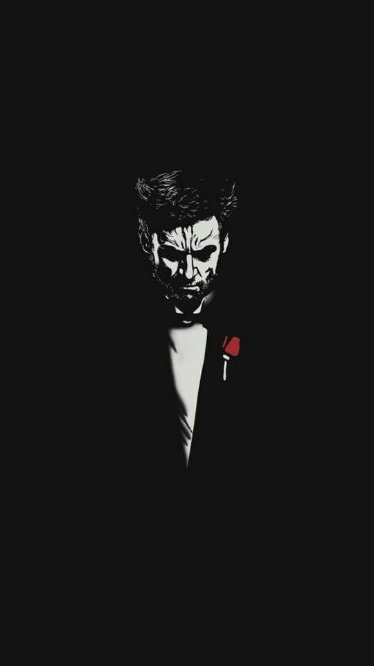 There You Go Marvel Wallpaper Joker Wallpapers Wolverine Art