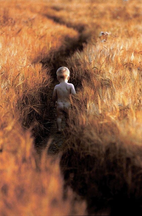 мальчик во ржи .1997г. воронин сергей - Niño en el centeno.1997 Sergey Voronin