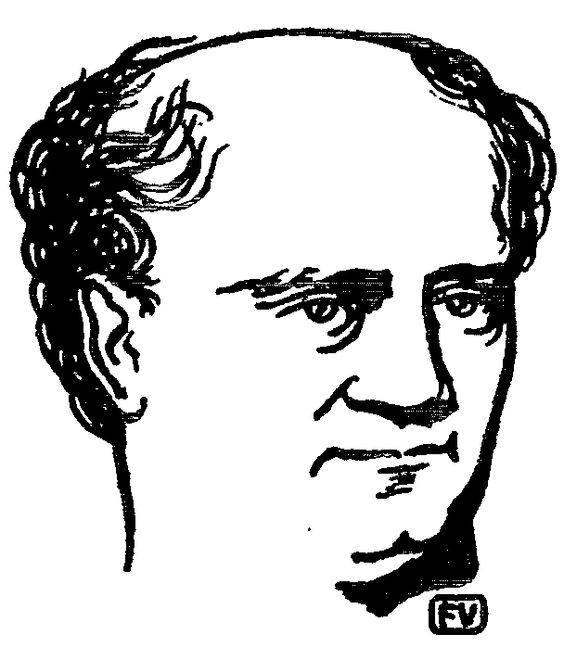 Polish philosopher Józef Hoene Wroński - Felix Vallotton