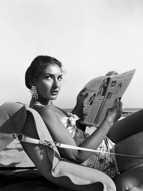 Maria Callas   theniftyfifties:    Maria Callas, 1950s