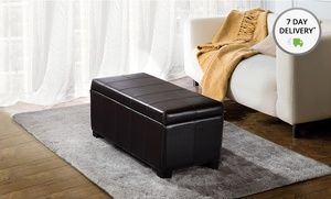 Groupon - Simpli Home Storage Ottomans. Multiple Models Available. in Online Deal. Groupon deal price: $89.99