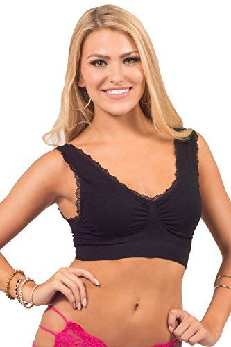 Juniors Wide Strap V-neck Ruffle Lace Trim Ruched Center Medium Support Bra Hot from Hollywood http://www.amazon.com/dp/B00ODD1YHI/ref=cm_sw_r_pi_dp_6UvWvb0MJDWVK