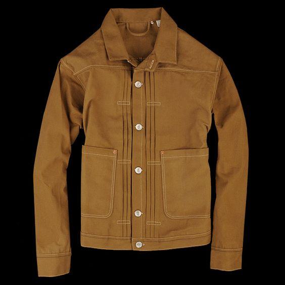 Levi's Vintage Clothing – 1878 Triple Pleated Jacket ...