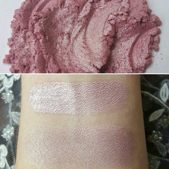 Zelda - Pink, Light Pink, Mineral Eyeshadow, Mica, Vegan, Organic Makeup, Mineral Makeup, Pressed or Loose by MoonGlimmerCosmetics on Etsy