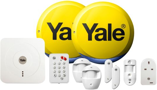 Yale Sr 340 Smart Home Alarm System Alarm Systems For Home Smart Home Alarm System Wireless Home Security Systems