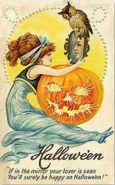 vintage halloween.