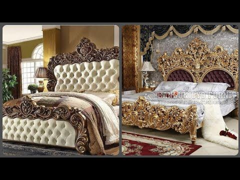 Modern And Luxury Royal Bed Designs For Your Dream Home Bedroom Furniture Ideas Youtube Royal Bed Bed Design Bed Design Modern