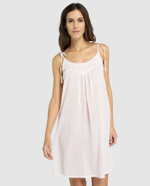 Camison Fluido De Mujer Unit Moda Ropa De Tallas Grandes Vestidos