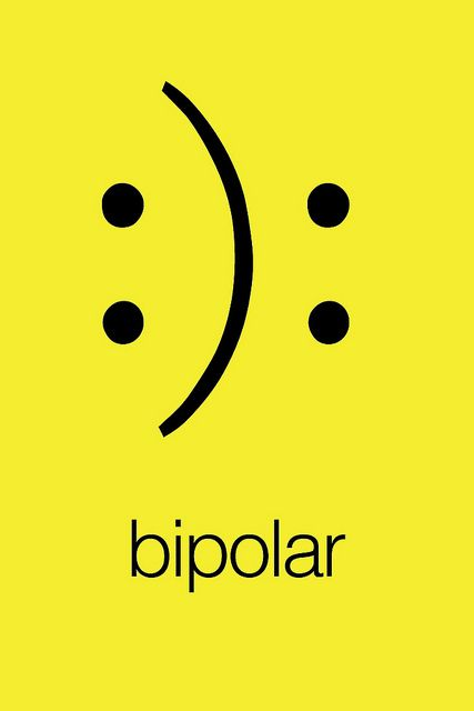 Justo en medio de la semana, ni felices ni tristes, tan solo #bipolar XD Feliz Miércoles!