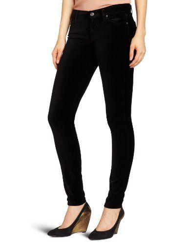 7 For All Mankind Women's The Velvet Skinny Pant 7 For All Mankind. $88.99. 71% Cotton/27% Rayon/2% Spandex. Machine Wash. Zip fly. 8.8 ounce stretch velveteen. Made in Mexico