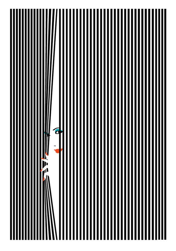 Hide and Seek by Malika Favre Lines- lines can be any way, they create a contrast to the photo and bring out the main object.