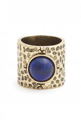 Natural Stone Band with Lapis Lazuli